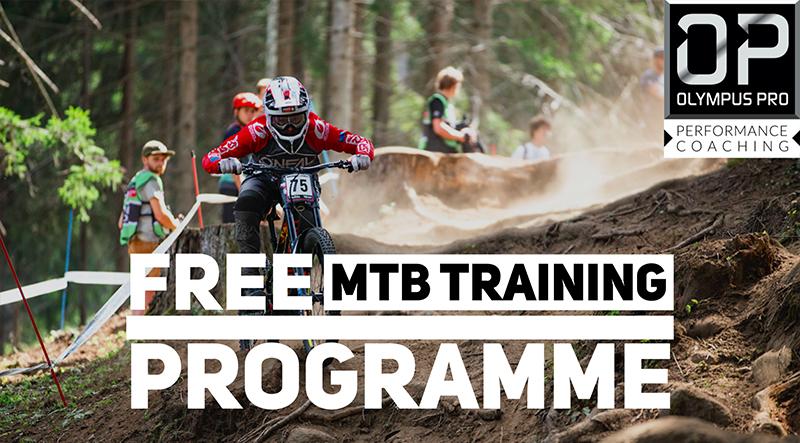 FREE MTB Training Programme with Olympus Pro Performance Coaching