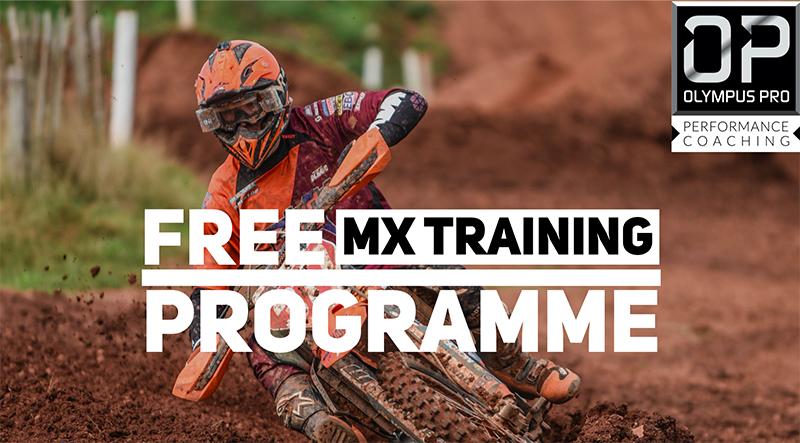 FREE MX Training Programme with Olympus Pro Performance Coaching