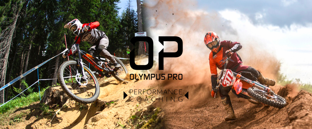 The banner for Olympus Pro performance coaching